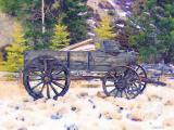Wagon Watercolour