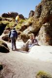 Cumbemayo - squeezing through the caverns