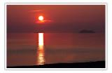 Sunset at Agawa