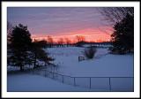 feb 14 red sky at morning