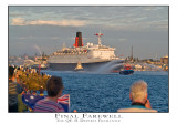 The Final Farewell, the QE 2 departs Fremantle