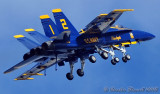 Blue Angels - Optical illusion