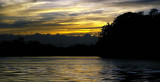 sunset over the Rio San Juan