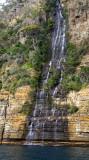 coastal waterfall