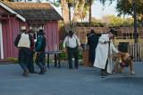 Old West reenactment
