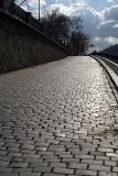 Cobbled Street Prague - Vertical