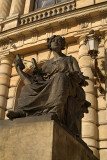 Statue Outside Rudolfinum Prague