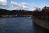 Towards the Svatopluk Cech Bridge Prague
