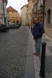 Chris in Prague
