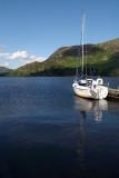 Boat Moored on Ullswater