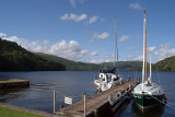 Boats Moored on Ullswater