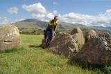 Chris at Castlerigg
