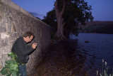 Chris at Ullswater