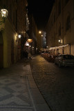 On the Streets of Prague at Night 02