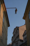 Man Hanging Out by David Cerny Prague 03