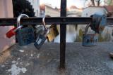 Padlocks on a Fence Prague 04