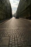 Cobbled Street Prague 04