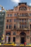 Grand Building Wenceslas Square Prague