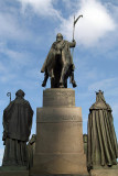 Statue of Wenceslas Wenceslas Square Prague 03