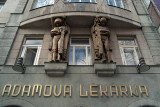 Wenceslas Square Prague Adamova Lekarna