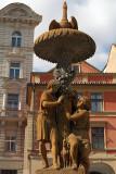 Decorated Statue Prague