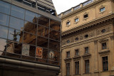 National Museum Reflected in Laterna Magika