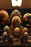Painted Eggs in Shop Window 03