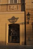 Streetlamp and Shadow Prague