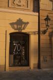 Streetlamp and Shadow Prague 02