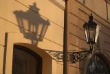 Streetlamp and Shadow Prague 03