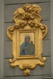 Building Detail - Madonna and Child in Golden Frame