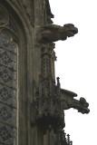 Building Detail - Windows and Gargoyles