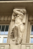 Building Detail - Woman with Muscles
