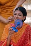 Nandita Das Filming in Varanasi