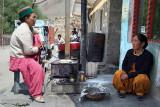 17 Woman Making Chapattis