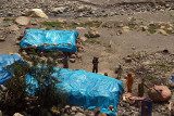 19 Road Workers Tents Leaving Spiti