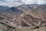27 Scenery from Mountain Pass Leaving Spiti Valley