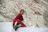 Grumpy Young Monk