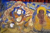 Painting at Thiksey Monastery 02