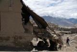 Collapsed Building Leh