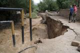 Damage to Changspa Bridge 02