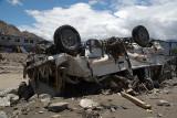 Overturned Vehicle Leh