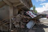 Smashed Bus Leh