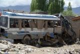 Smashed Vehicles Leh