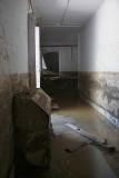 Corridor Emptied of Mud Twelve Days On