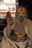 Sadhu in Shivalaya Pashupatinath 02