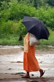 Sadhu with Umbrella Pashupatinath