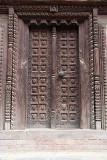 Carved Wooden Door Bhaktapur 02