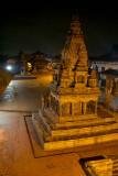 Durbar Square at Night Bhaktapur