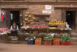 Fruit and Veg Stall Bhaktapur